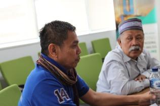Dr. Hinca IP Pandjaitan XIII dan Drs. Jerry RH Sirait